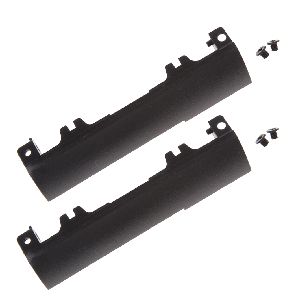 2x Black Plastic HDD Hard Drive Disk Caddy Cover Tray Bezel For Dell Latitude E6440 Equipped with 2 mounting screws