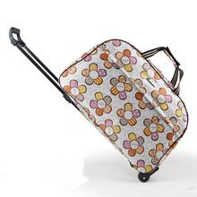Saco de bagagem de viagem saco de bagagem de viagem duffle de julysong s song trolley mala de viagem(China)