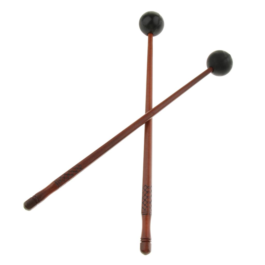 Finest 2pcs Percussion Mallets Beaters for Lotus Drum Handpan Parts