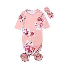 Dễ Thương Cho Bé Túi Ngủ Trẻ Sơ Sinh Hoa Chăn Đầm Bọc 2 Trang Phục B(China)