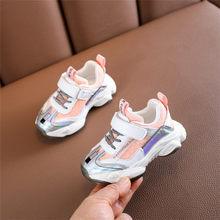 2020 ניו אביב ילדי נעלי רשת קטן בני בנות נעלי מותג ילדי סניקרס אופנה תינוק נעלי 21-25(China)