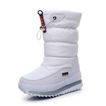 -30 degree 2019 winter girls winter boots Waterproof girl boots kids boots Snow Boots warm Children shoes kids wellies boys(China)