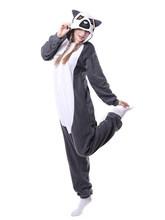 Kigurumi פיג 'מה למבוגרים מדגסקר ארוך זנב קוף למור בעלי חיים Onesies יוניסקס Cosplay תלבושות בעלי החיים סרבל תינוקות הלבשת סרבל(China)