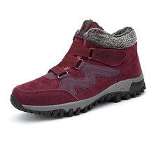 STQ 2020 Mùa Đông Nữ Ủng Nữ Ấm Áp Đẩy Mắt Cá Chân Giày Bốt Nữ Cao Gót Chống Thấm Nước Giày Cao Su Đi Bộ Đường Dài Giày Boots 6139(China)