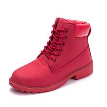 Mùa Đông Giày Nữ Giày Nữ 2019 Lông Ấm Áp Sang Trọng Sneakers Nữ Ủng Nữ Buộc Dây Cổ Chân Giày Mùa Đông Giày người Phụ Nữ Botas Mujer(China)