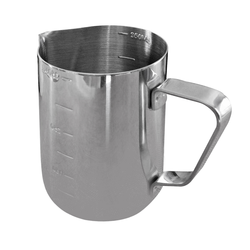 Candle Making Pitcher Frothing Pitcher Stainless Steel Milk Pitcher 350ml Perfect for Wax Milk Cream Water Juices Craft Coffee