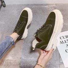 Cootelili Da Lộn Da Giày Nữ Giày Nữ Boot Giày Người Phụ Nữ Mắt Cá Chân Giày 4 Cm Chiều Cao Gót Dành Cho Nữ(China)