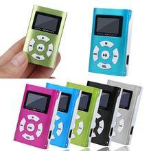 Hifi USB مشغل موسيقى MP3 صغير LCD حامل شاشة 32 جيجابايت مايكرو SD TF بطاقة الرياضة موضة 2019 العلامة التجارية الجديدة نمط Rechargeab #0916(China)