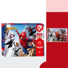 Disney Toy Story 100 Peça do Puzzle Marvel Spiderman Thomas Dos Desenhos Animados Puzzle Brinquedo Divertido Puzzle com Desenhos(China)
