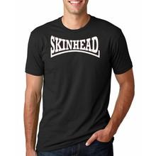 Hot Sale Fashion SKINHEAD ska music New Fashion Men's T-shirts Short Sleeve Tshirt Cotton t shirts Man Clothing Free Shipping(China)