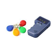 جديد الجملة المحمولة 125KHz EM4100 RFID ناسخة الكاتب الناسخ مبرمج قارئ مع الهوية للكتابة Keyfobs الكلمات بطاقة(China)