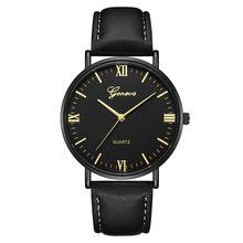 Genebra masculino relógios de marca luxo aço inoxidável analógico quartzo senhoras vestido relógios pulso relógio feminino montre homme qg(China)