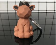 Gen2 10 Kiểu Dáng Gấu Trúc Koala Khủng Long Móc Khóa Móc Khóa Bông Nhồi Hoạt Hình PU Dây Chuyền Chìa Khóa Sáng Tạo Xe Túi Phím Điện Thoại nhẫn(China)