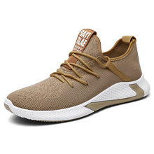 2020 bahar erkekler koşu ayakkabıları spor ayakkabı örgü çorap ayakkabı çift rahat Fly örgü Sneakers kadın trendi vahşi katı Tenis Masculino(China)