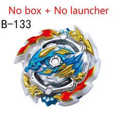 Topos explosão lançadores beyblade gt brinquedos B-153 explosão bables toupie bayblade fusão de metal deus girando topos bey lâmina lâminas brinquedo(China)