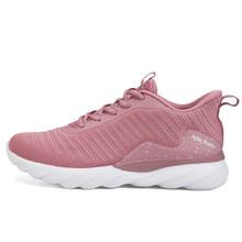 שיא קל להגמיש קצף קל Outsole סניקרס נשים קל במיוחד נעלי ריצה לנשימה ספורט כושר נעלי אימון הנעלה(China)