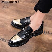 Мужская обувь с перфорацией типа «броги»; Формальная дизайнерская обувь; Мужская классическая Свадебная обувь; Коллекция 2020 года; Coiffeur; Муж...(China)