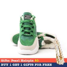 Fujin Vrouwen Casual Sneakers Lente Herfst Sneakers Ademende Vrouwen Schoenen Lace Up Vrouwelijke Laarzen Comrfortable Platform Schoenen Vrouwen(China)