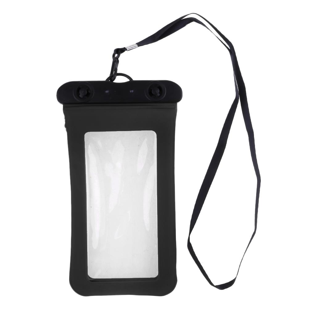 Waterproof Mobile Phone Bag Case Floating Air Bag Design Neck Strap Universal 6 Inches Phones Diving Equpment Set