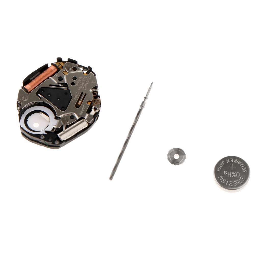 VX51 Quartz Watch Movement with Stem And Battery Watch Repair Parts