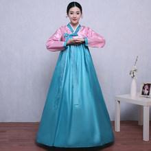 2020 ססגוניות באיכות גבוהה מסורתי קוריאני Hanbok שמלת נקבה קוריאני עממי שלב ריקוד תלבושות קוריאה מסורתי תלבושות(China)