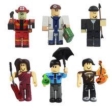 2019 engraçado alegria novo terno robloxs figura jugetes 7cm pvc figurinhas jogo robloxs meninos brinquedos para roblox-jogo(China)