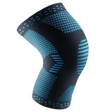 Yumuşak Elastik Diz Bacak Koruyucu Destek Spor Koşu Basketbol Diz Örme Teknolojisi Ince Polyester Elyaf Ped Kol(China)