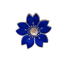 Nikkei Gakuin Sakura Enamel Brooches(China)
