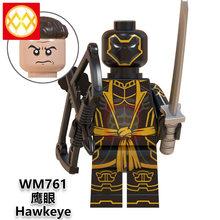 X0263 Алая ведьма Shuri Gamora ОСА перец военная машина Капитан Америка супер герой здание подарок блоковые игрушки Мстители эндмейд(China)
