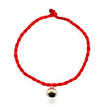 ホット販売 2018 1PC ファッション赤糸文字列のブレスレット幸運赤黒手作りロープのブレスレット男性ジュエリー恋人カップル(China)