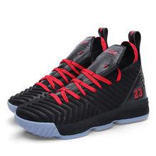 Mannen Vrouwen Basketbal Schoenen Paar Lebron Basketbal Sneakers Demping Jordan Basketbal Laarzen Ademend Outdoor Sport Schoenen(China)