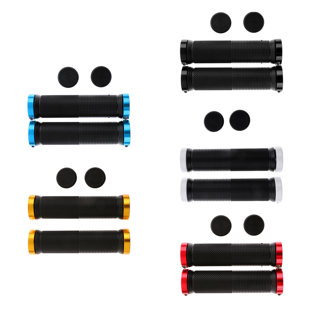 1 Pair Soft Bicycle Bike Handlebar Grips Foam Sponge Grip Cover Tape Nonslip for Mountain Road Foldable Bike MTB BMX