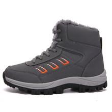 STQ kadın yarım çizmeler ayakkabı kadın kürk astarı ayak bileği kar botları bayanlar konfor rahat dantel-up bot ayakkabı kadın kış çizmeler 815(China)