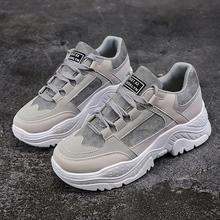 Spor ayakkabı kadın rahat ayakkabılar peluş kürk sıcak kış ayakkabı kadın lace up boots kadınlar sneakers rahat platform ayakkabılar kadın(China)