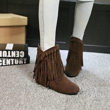 Hızlı satış döviz kaynağı yüksek kaliteli buzlu cilt saçaklı kadın botları büyük boy kadın özelleştirilmiş çizmeler.(China)