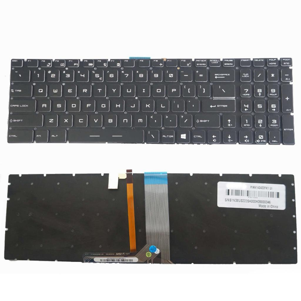 US Layout Replacement Keyboard for MSI GE72 GE62 WS60 GS60 GS70 GT72 GP62 GP72 GT73VR GS72 GL62VR Keyboard High Quality