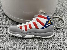 新ミニ AJ ジョーダン 11 靴キーホルダー男性女性子供ジョー(China)