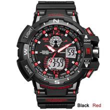 SMAEL Sport montre hommes 2020 horloge mâle LED numérique Quartz montres hommes haut de gamme marque de luxe numérique-montre Relogio Masculino(China)