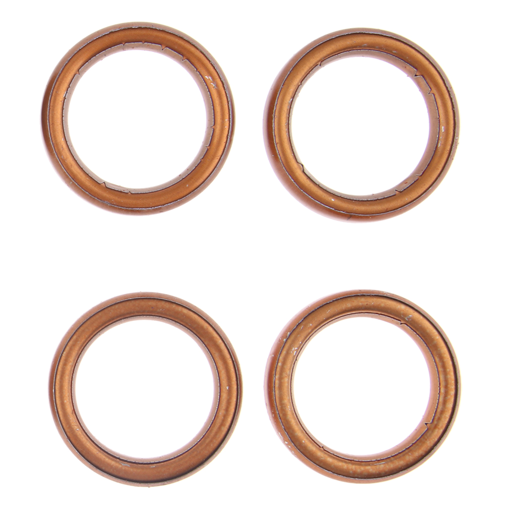 Motorbike Exhaust Muffler Gaskets for 49 50 110 150cc Gy6 Moped Scooter ATV