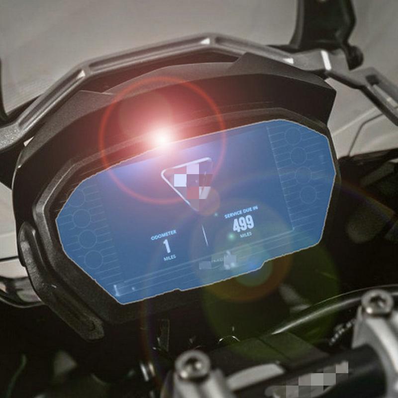 Pellicola protettiva per display tachimetro adatta per Triumph Tiger 800//1200 1 x Ultra Clear 1 x Anti Glare 2 pezzi