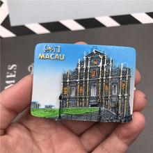 อินเดีย Taj Mahal Shanghai Disney มาเก๊า Samba Archway Pisa Tower อิตาลีแม่เหล็กตู้เย็นของที่ระลึกสำหรับโปรโมชั่นของขวัญต...(China)