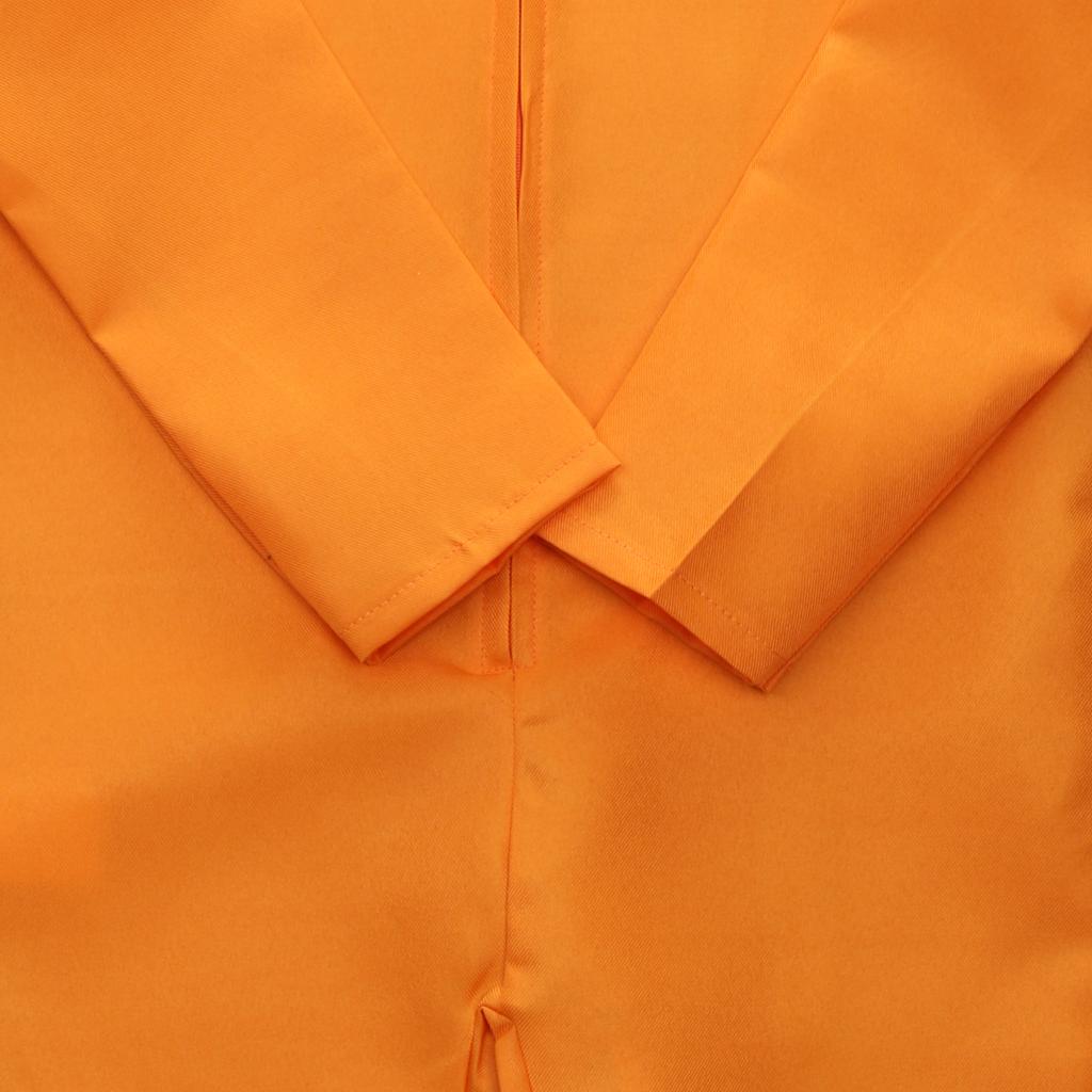 Convict Stag Do Party Fancy Costume Mens Boys Prisoner Overall Orange Jumpsuit