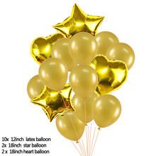 30 40 50 60 feliz aniversário decoração suprimentos 40 polegada número da folha de ouro balão adulto cerimônia suprimentos festa aniversário parede decora(China)