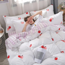 Yimeis Kawaii Bedding Sets Polyester 100 Queen Bed Comforter Set Bedding Floral Queen Comforter Sets(China)