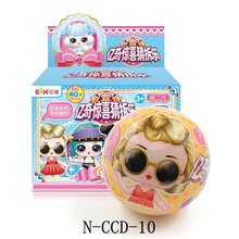 Eaki Surpresa Originais lol Boneca Reborn Bonecas Bola Brinquedos Do Bebê Enigma DIY Dress Up Princesa Boneca Brinquedos para As Crianças de Aniversário presentes(China)