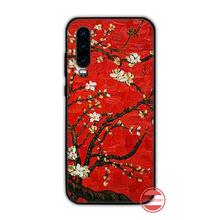 אמנות ואן גוך כיסוי TPU שחור טלפון מקרה כיסוי גוף Funda עבור Huawei P9 P10 P20 P30 לייט 2016 2017 2019 בתוספת פרו P חכם(China)