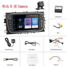 Podofo Android 8.1 GPS Xe Máy Bộ Đàm 2 DIN Máy nghe nhạc Đa Phương Tiện 7 ''Âm Thanh ĐẦU DVD Dành Cho Xe Ford/Tiêu Điểm /S-Max/Mondeo 9/GalaxyC-Max(China)