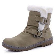 Kış çizmeler kadın ayakkabıları kısa çizme düz Martin platformu çizmeler gelgit artı kadife kısa tüp kar botları kadın öğrenciler New2019(China)