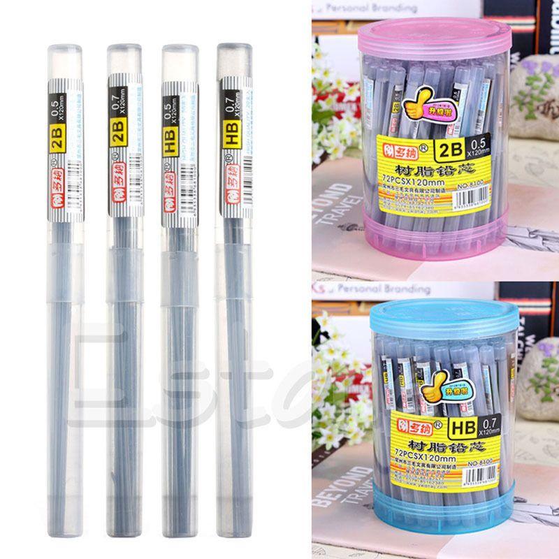 jiulonerst 2B Lead a Refill Tube 0.7 mm Automatic Pencil Lead