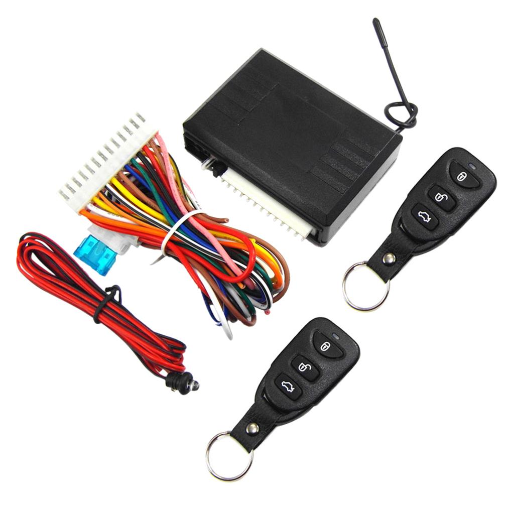 Universal Car Remote Control Alarm Keyless Entry System Anti-theft Door Lock